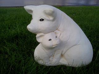 Pig and baby $45
