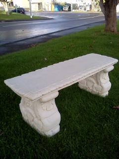 Straight garden seat $220