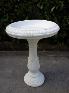 Roman birdbath $120