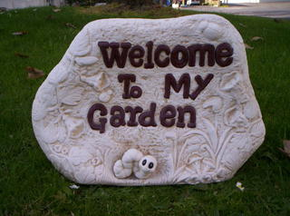 Welcome to my garden $50
