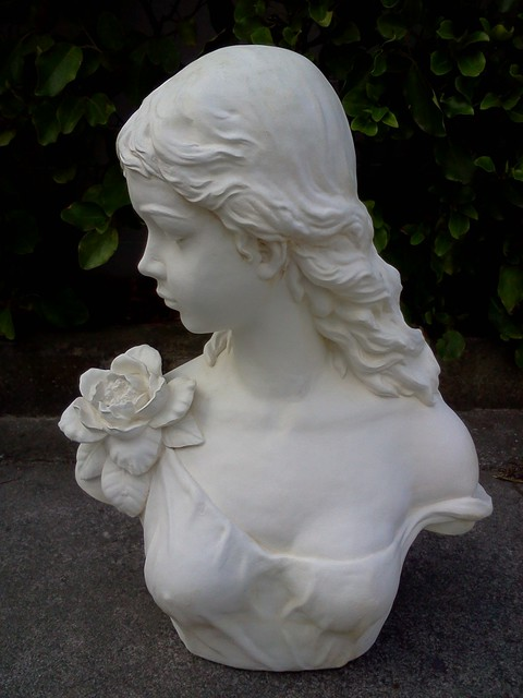 Lady with roses $130